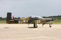 ZF317 @ EGSU - Shorts Tucano ZF317 1 FTS RAF, Duxford 15/5/10 - by Grahame Wills
