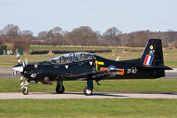 ZF417 @ EGXU - Shorts Tucano T1 ZF417 1 FTS RAF, Linton-on-Ouse 5/3/12 - by Grahame Wills