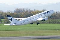 EP-IBA @ VIE - Iran Air Airbus A300-600 - by Thomas Ramgraber