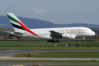 A6-EDJ @ VIE - Emirates Airbus A380 - by Thomas Ramgraber