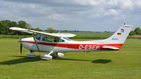 D-ESEP @ EGTH - 1. D-ESEP visiting the Shuttleworth Collection, May, 2018.
