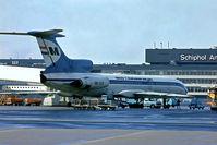 HA-LCA @ EHAM - HA-LCA   Tupolev TU-154B2 [73A-045] (MALEV) Amsterdam-Schiphol~PH @ 29/08/1976