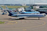 RA-85639 @ EHAM - RA-85639   Tupolev Tu-154M [88A-771] (Aeroflot) Amsterdam-Schiphol~PH 13/09/2003