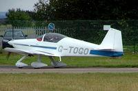 G-TOGO @ EGBP - G-TOGO   Van's RV-6 [PFA 181A-13447] Kemble~G 11/07/2004