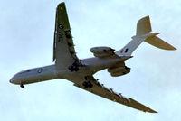XV102 @ EGDX - XV102   Vickers VC-10C.1 [832] (Royal Air Force) RAF St. Athan~G 20/09/1975