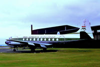 YI-ACM @ EGNX - YI-ACM   Vickers 735 Viscount [69] (Iraqi Airways) East Midlands Airport (Castle Donington)~G 21/03/1954