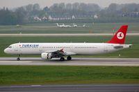 TC-JME @ EDDL - Turkish A321, now with Nordwind. - by FerryPNL