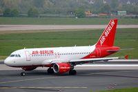 D-ABGH @ EDDL - Air Berlin A319 - by FerryPNL