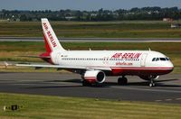 D-ABDK @ EDDL - Air Berlin A320 taxying for departure - by FerryPNL