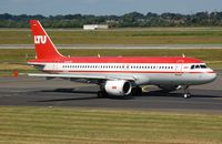 D-ALTG @ EDDL - LTU A320 - by FerryPNL