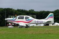 G-BYZD @ EGBP - G-BYZD   Tri-R KIS TR-4 Cruiser [PFA 302-13156] Kemble~G 01/07/2005