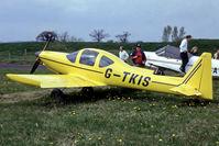 G-TKIS @ EGHS - G-TKIS   Tri-R TR-1 KIS Cruiser [PFA 239-12358] Henstridge~G @ 19/04/1995