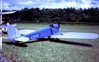 G-EBHX @ EGTH - G-EBHX   de Havilland DH.53 Hummingbird [98] (Shuttleworth Trust) Old Warden~G 29/06/1975