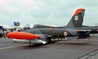 MM54493 @ EGVI - MM54493   Aermacchi MB-339A-MLU [6690] (Italian Air Force) RAF Greenham Common~G 23/07/1983