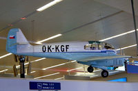 OK-KGF @ LKPR - OK-KGF   Aero 45S [04-019] (Letecke Muzeum Kbley) Prague-Ruzyne~OK 07/05/2002