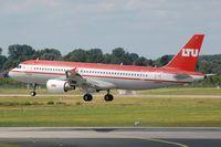 OE-LTU @ EDDL - Austrian LTU A320 landing in DUS - by FerryPNL