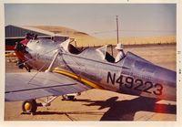 N49223 @ PRB - Paso Robles flyin California May 1972. - by Clayton Eddy
