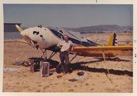 N51707 @ PRB - Paso Robles Airport California 5-72. - by Clayton Eddy