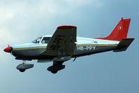 HB-PPY @ LFKC - Landing