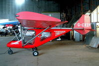 G-CXIP @ EGBS - G-CXIP   Thruster Sprint T600N-450 [1031-T600N-095]Shobdon~G 14/08/2004