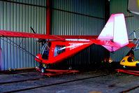 G-REDZ @ X2SN - G-REDZ   Thruster Sprint T600 450 [0037-T600N-091] Swindon-Redlands~G 21/05/2005