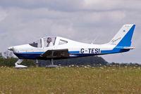 G-TESI @ EGBP - G-TESI   Tecnam P.2002 Sierra [PFA 333-14481] Kemble~G 19/08/2006. Seen departing for flight.