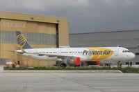 OY-PAF @ LMML - A321 OY-PAF Primera Air - by Raymond Zammit