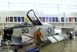 145645 - Vought RF-8G Crusader at the USS Alabama Battleship Memorial Park, Mobile AL