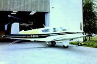 D-EGYL @ EDLD - D-EGYL   Beech V-35B Bonanza [D-10006] Dinslaken-Schwarze Heide~D 13/05/78