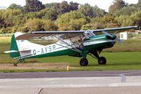 G-AVSR @ EGKA - G-AVSR   Beagle D.5/180 Husky [3689] Shoreham~G 27/08/2007
