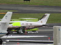 T7-HEY @ NZAA - crappy long shot from car park - on round the world flight - by Magnaman