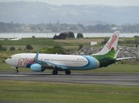 YJ-AV8 @ NZAA - departing fro home - by Magnaman