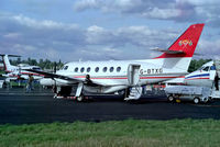 G-BTXG @ EGLF - G-BTXG   BAe Jetstream 3102 [719] (British Aerospace) Farnborough~G 11/09/1992 - by Ray Barber