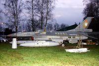 FA-25 @ EBBL - Preserved.Fuselage FA-38.Tail FA-25 349 SQD 50 YEARS.