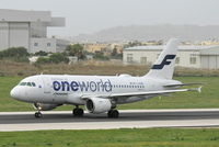 OH-LVD @ LMML - A319 OH-LVD Finnair - by Raymond Zammit