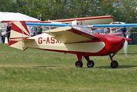 G-ASXI @ EGHP - G-ASXI Tipsy T.66 Nipper II [56] Popham~G 30/04/2011