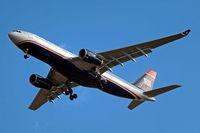 N280AY @ EGLL - N280AY   Airbus A330-243 [1022] (US Airways) Home~G 02/03/2010 - by Ray Barber