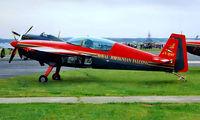 JY-RNF @ EGVA - JY-RNF   Extra EA.300 [063] (Royal Jordanian Falcons) RAF Fairford~G 19/07/1997 - by Ray Barber