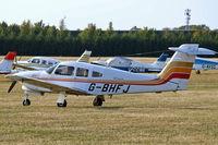 G-BHFJ @ EGLM - G-BHFJ   Piper PA-28RT-201T Turbo Arrow IV [28R-7931298] White Waltham~G 10/09/2006