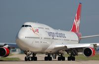 G-VTOP @ EGCC - Virgin B744 lining-up - by FerryPNL