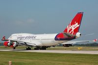 G-VTOP @ EGCC - Virgin B744 thundering away to the US. - by FerryPNL
