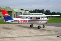 G-BSDP @ EGLD - Previously N24468. Operated by The Pilot Centre Denham. It had just been refuelled ready for its next flight. - by Glyn Charles Jones