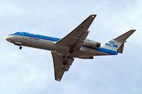 PH-KZB @ EGLL - PH-KZB   Fokker F-70 [11562] (KLM cityhopper) Home~G 30/04/2014