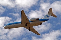 PH-WXD @ EGLL - PH-WXD   Fokker F-70 [11563] (KLM cityhopper) Home~G 10/07/2015. On approach 27R.