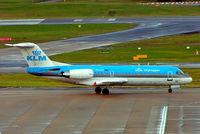 PH-KZP @ EGBB - PH-KZP   Fokker F-70 [11539] (KLM cityhopper) Birmingham Int'l~G 12/02/2007 - by Ray Barber