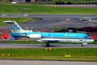 PH-KZA @ EGBB - PH-KZA   Fokker F-70 [11567] (KLM cityhopper) Birmingham Int'l~G 20/09/2005