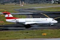 OE-LFO @ EDDL - OE-LFO   Fokker F-70 [11559] (Austrian Airlines) Dusseldorf~D 26/08/1996