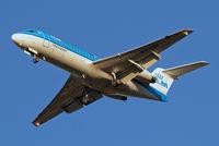 PH-KZH @ EGLL - PH-KZH   Fokker F-70 [11583] (KLM cityhopper) Home~G 02/11/2012. On approach 27R.