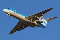 PH-KZH @ EGLL - PH-KZH   Fokker F-70 [11583] (KLM cityhopper) Home~G 02/11/2012. On approach 27R.
