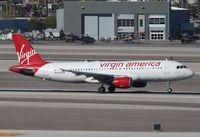 N845VA @ KLAS - Airbus A320-214
